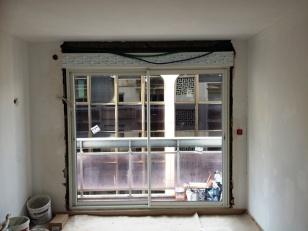 Porte fenêtre PVC avec volets roulants, 2Bsi Concept